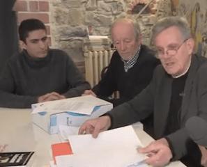 """Sébastien Esnault ( ici avec R.Avrillier et V.Comparat des Verts Ades) était un """" citoyen indépendant..."""