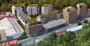 650 Logements dont 50% de sociaux entassés à l'esplanade: le projet Piolle (Verts/PG); Photo DL