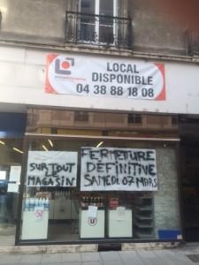 des centaines de commerces sont menacés dans l'agglomération grenobloise