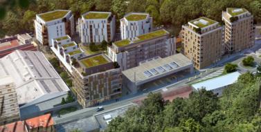 le projet de 650 logements dont 50 % de HLM sans espaces verts ni parkings