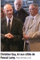 C.Guy et P.Lamy soutiens des Musiciens