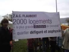 """et Flaubert avec 15 000 nouveaux habitants et un """"parc"""" boyau pour habiller le bétonnage"""