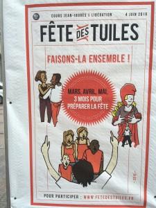 Journée des Tuiles: l'affiche ne dit pas le coût: 500 000€
