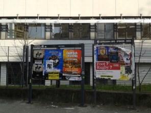 Saint Bruno : les nouveaux panneaux municipaux embellissent la place