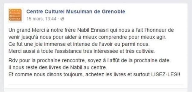 "Nabil Ennasri est ""frère musulman"" et grand supporter du Qatar"