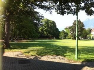 Parc de Marliave une autre réserve verte de la municipalité Carignon dans le quartier