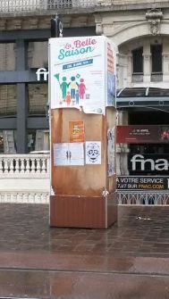 rue Felix Poulat devant ...