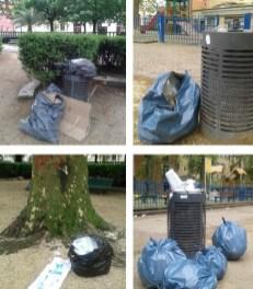 Jardin de ville privatisé pour les amis de Piolle : après le parking de voitures le dépotoir