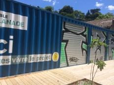 """"""" maison du projet"""" fermée et le cabinet HDZ"""