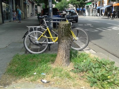 """""""bio-diversité"""" à la grenobloise et vélos qui sauvent la planète"""