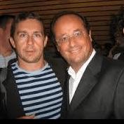 Christophe Ferrari avec François Hollande: côté rapidité, efficacité et résultats ils se ressemblent