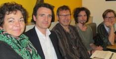 Corinne Bernard ( Verts/Ades) qu'il faut sauver à tout prix avec Eric Piolle, Pierre Mériaux et notamment Maryvonne Boileau (Verts/Ades)