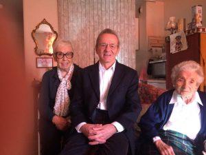 Alain Carignon, très ému par la situation a apporté son soutien aux résidents