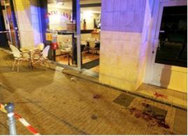 les ang est demeuré sur les trottoirs plusieurs jours et ce sont les habitants qui ont fni par nettoyer! ( photos le Dauphiné Libéré )