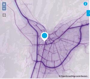 La carte de la pollution auto montre que les bouchons de A 480 et de la Rocade sud sont les premiers facteurs . Le report de 15 000 véhicules sur les boulevards et le sud de Grenoble devrait aggraver ce phénomène