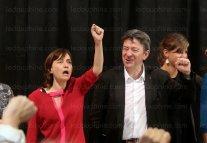 E.Martin avec JL Mélanchon: la municipalité Verts/ades/PG est un boulet pour le candidat de la France Insoumise