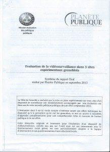 Dés 2012 le rapport de la mission d'évaluation des politiques publiques de la ville...