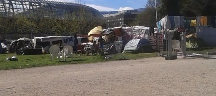 Sur le terrain municipal Valmy prés du stade des Alpes