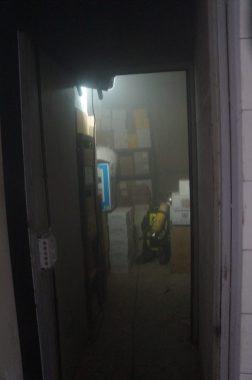 l'incendie volontaire d'un immeuble à Hoche par les délinquants