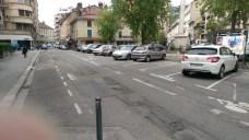 Place de Metz un jour de semaine à 15 H