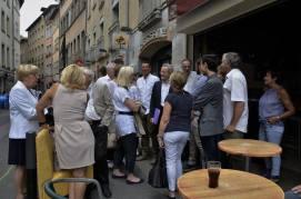 """Alain Carignon ( au centre) et des membres du collectif """" Grenoble le Changement"""" ont proposé 10 solutions concrètes qu'Eric Piolle a refusé de soumettre à son régime de pétition !"""