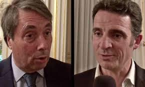 M.Destot et E.Piolle: les élus PS/PC et Verts/Ades gérant Grenoble depuis 22 ans et découvriraient la situation de la ville....