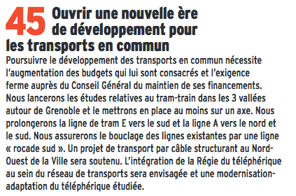 """E.piolle toujours grandiloquent avec lui-même devait même """" ouvrir une nouvelle ère pour le développement des transports en communs"""" ! ça se termine comme le reste"""