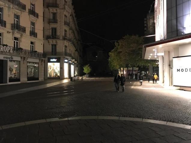 lumière place Grenette