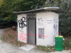 Les toilettes du parc Paul Mistral