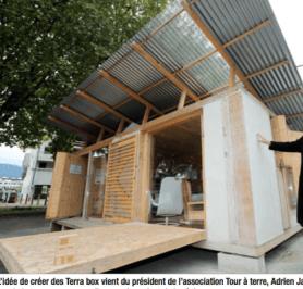 Pendant qu'on bétonne E.Piolle présente les maisons du futur ...