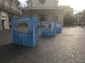 """"""" Cela a considérablement libéré l'espace public"""" ose dire L.LHeureux: ici la com' qui gomme la création du Tram par la municipalité Carignon"""