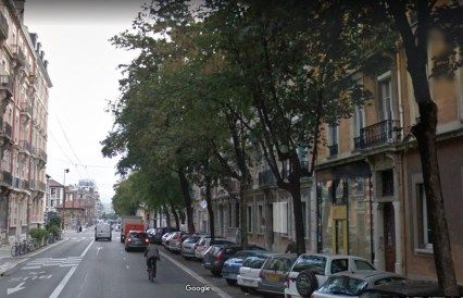 Rue Lesdiguières avant ...