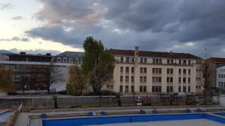 La municipalité a déjà abattu les arbres de la piscine Jean Bron