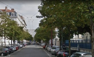 rue Hébert avant ...