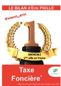 Les propriétaires sont lésés par les deux bouts: ils paient la taxe foncière la plus élevée de France et la valeur de leur bien s'effondre