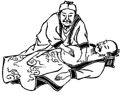shiatsu massage abdominal