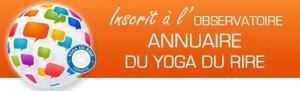 inscrite à Observatoire Yoga du rire