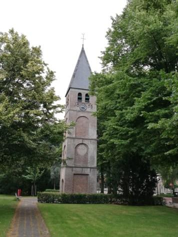 Kerktoren in Nieuw-Schoonebeek