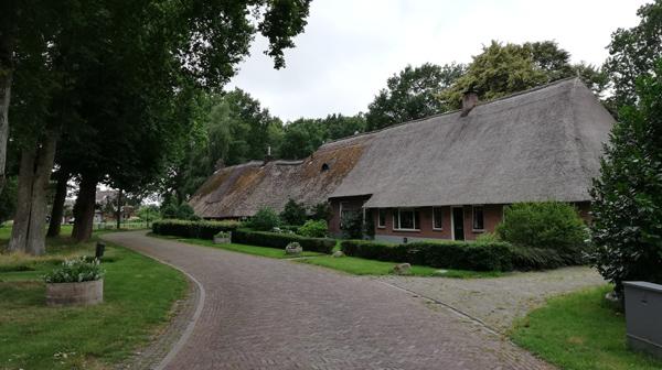 Saksische boerderij in Middendorp