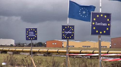 U arriveert... en verlaat... Eurostaete!