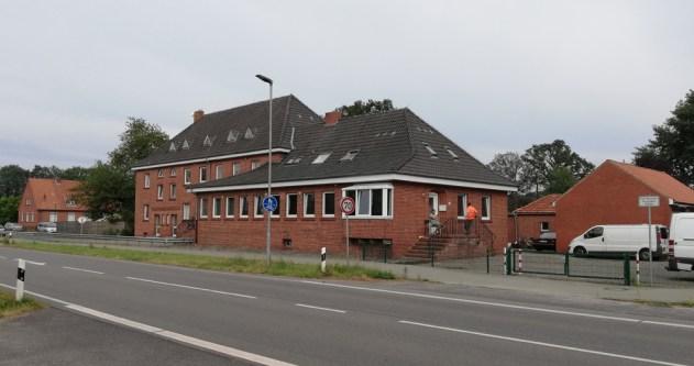 Het grenskantoor bij de Rammelbeek-grensovergang