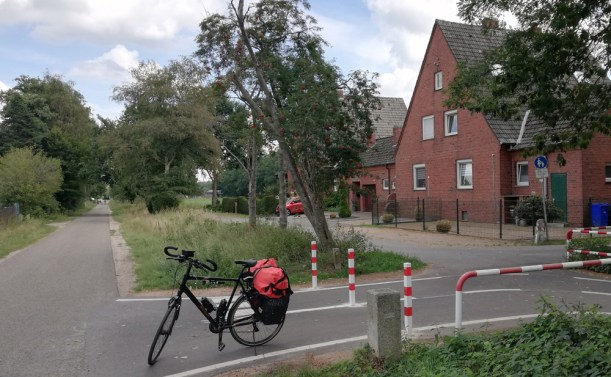 De Dubbeleweg tussen Overdinkel en Gronau