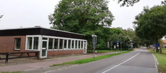 Het oude grenskantoor bij Zwillbrock