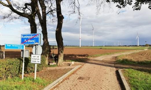 Grensovergang bij Koningsbosch