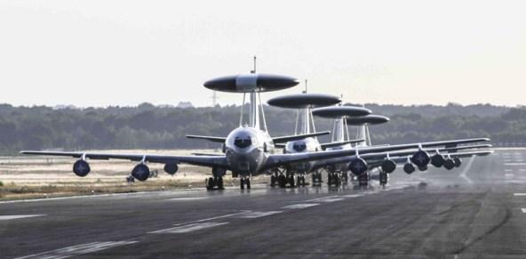 AWACS - vliegtuigen