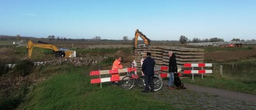 Werken aan de Maas bij Obbicht
