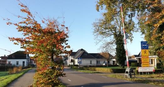 Grensovergang westelijk van Budel-Schoot