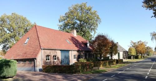 Langgevelboerderijen aan het Boscheind in Luyksgestel