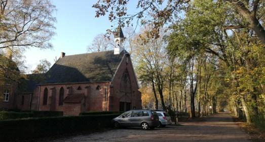 De kapel in Nieuwkerk