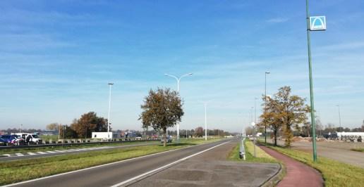 De grensovergang Essen-Roosendaal